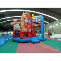 Wholesale Outdoor Sport Spongebob Jump House For Kids Playing 5Mx 6M X 4M from china suppliers