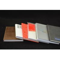 China Red Custom Paper Notebooks Personalized , Recyclable Notebooks on sale