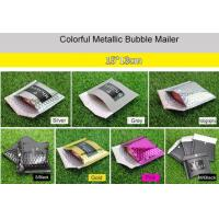Wholesale 15x13cm Purple Metallic Bubble Mailer Easy Using With Excellent Shock Resistance from china suppliers