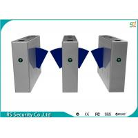 Wholesale Stainless Steel Turnstile Gates, Pedestrian Flap Barrier Gate System from china suppliers