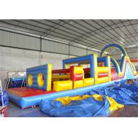Wholesale Safety Inflatable Obstacle Course , Kids Obstacle Course Equipment For Fun from china suppliers