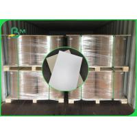 China 250gsm to 400gsm Duplex Board One Side Grey Good Stiffiness In Jumbo Reels for sale