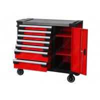7 Drawer 1 Door Premium Tool Chest 42 Inches SPCC Custom Colors High Strength Structural for sale