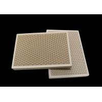 China Porous Honeycomb Ceramic Infrared Gas Burner Plate For Oven , Customized for sale