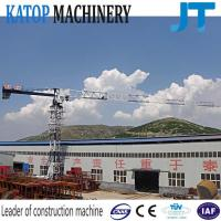 Wholesale Topless slewing 5t load with low price TC5010 flat top tower crane from china suppliers