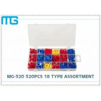 Wholesale MG - 520 18 Types Terminal Assortment Kit SV BV Red Blue Yellow 520 pcs OEM / DEM from china suppliers
