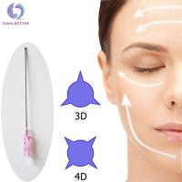 China Facial Absorbable suture thread lift beauty korea 4D lifting cog PDO thread for sale