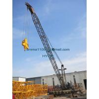 China Customized QD1840 Derrick Tower Crane 10tons Capacity for Building 150M high for sale