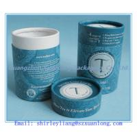 Wholesale round paper packaging can for tea from china suppliers