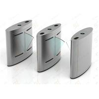 Wholesale Access Control Flap Barrier Gate, Barcode RFID Reader Turnstile System from china suppliers