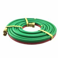 China Epdm Wp 300psi 1/4 Inch X 25ft Twin Welding Hose For Gas Cutting on sale