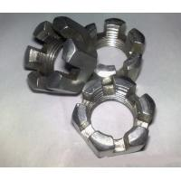China Hex Slotted Nut for sale