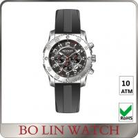 Wholesale High End Military Chronograph Watch , 100 Meters Water Resistant Infantry Military Watch from china suppliers
