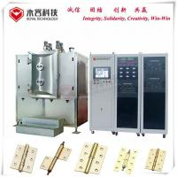 Wholesale Hinge Thin Film Coating Machine , Pecvd Magnetron Sputtering Equipment from china suppliers