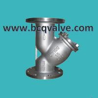 Wholesale JIS/KS STANDARD 10K STAINLESS STEEL FLANGED Y-STRAINER from china suppliers
