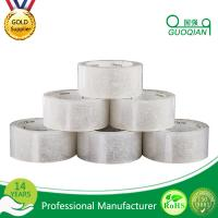 Wholesale Strong Adhesive White Silent Packing Tape , Clear Custom Masking Tape from china suppliers