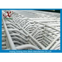 Buy cheap 3D Curved Galvanized Dark Green  Welded Mesh Fence For Garden  School from wholesalers