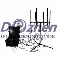 Wholesale 160W 4-8 Bands Drone Signal Jammer High Power 300-1000 Meters Jamming Range from china suppliers
