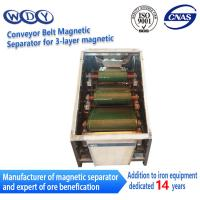 Buy cheap Professional Production Belt Rolls Type Magnetic Separator Machine from Wholesalers