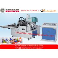 Wholesale Automatic ice cream cone paper sleeve machine from china suppliers