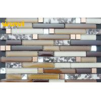 Wholesale Residential Acid - Resistant Shell Mosaic Tile With Glass And Ceramic from china suppliers