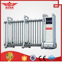 Wholesale SSCL stainless steel automatic folding door for company main gate-J1337 from china suppliers