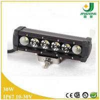 Buy cheap 30W tractor led light bar 12v waterproof 5w cree led off road led light bar from wholesalers