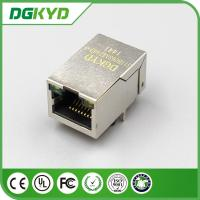 China 25.4Mm 100M 1x1 Tap Up RJ45 Ethernet connector with POE for network cable plug on sale