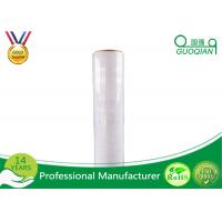 Wholesale Cast LLDPE Stretch Wrapping Film / Polyethylene PlasticShrink Stretch Film Jumbo Roll from china suppliers