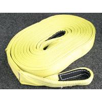 Wholesale 50mm 3000kg Green Polyester tow strap with Steel hooks from china suppliers