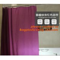 Wholesale PEVA Bathroom hooks shower curtain, PEVA Shower Curtain Disposable Bath Curtain, shower curtain For Hotel Bathroom packa from china suppliers