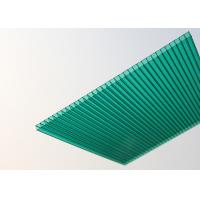 Wholesale Soundproof Polycarbonate Patio Roof Panels , Green Plastic Roofing Sheets from china suppliers