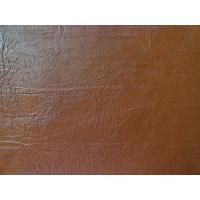 Wholesale Elastic, Anti-Mildew PU Embossed Upholstery Thickness 1.0mm Genuine Leather Handfeeling from china suppliers
