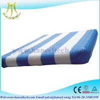 China Hansel inflatable water mat inflatable water floats on sale