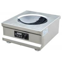 Wholesale 5000W High Efficiency Commercial Induction Wok Cooker With One Burner Easy Operation from china suppliers