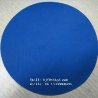 Quality 0.5mm Blue Nitrile Coated Nylon Fabric for Apron REACH Standard for sale