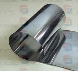 Quality 99.95% ASTM B393 niobium strip in coils Deep drawn niobium strips /foils for for sale
