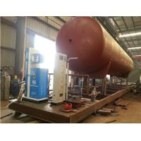 Wholesale hot sale CLW brand best price mobile skid lpg gas filling plant, mobile skid mounted lpg gas refilling station from china suppliers