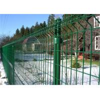 China PVC Powder Coated Galvanized Metal Welded Wire Mesh Fence on sale