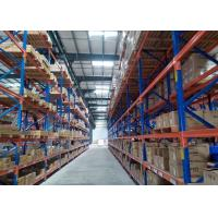 Wholesale Multi Level Metal industrial Heavy Duty Racking Warehouse Storage With CE Certificate from china suppliers