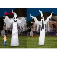 Buy cheap Free Shipping Inflatable Holiday Hallow mas Decoration Ghost On Yard With Led Light from Wholesalers