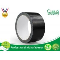 Quality Black Color PE Coated Economy Cloth Duct Tape 60 Yds Length Waterproof Duct Tape for sale