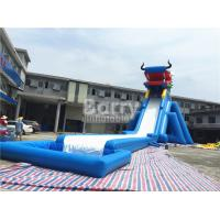Buy cheap Dragon Head Outdoor Adult Size Inflatable Water Slide Clearance Huge Inflatable from wholesalers