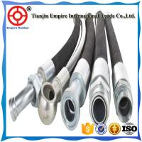 Wholesale Hydraulic pump specified DIN EN853 1'' inch steel wire braided hydraulic rubber hose from china suppliers