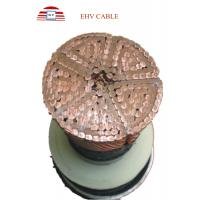 Buy cheap EHV XLPE insulated power cables Underground Segmentation Conductor from wholesalers