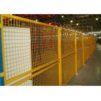 Wholesale Indoor Warehouse Safety Fences , Security Steel Fencing 1.5-3m Width from china suppliers
