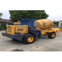 Wholesale Adjustable Mobile Volumetric Concrete Mixers , 6252 X 2200 X 2892mm Self Mixing Concrete Truck from china suppliers