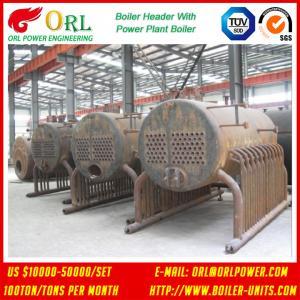 Quality SA213T11 10 Ton Steel Electric CFB Boiler / Oil Steam Steam Boiler Header 380MW for sale