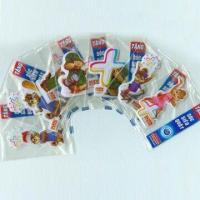 Wholesale Puffy Stickers with Soft Transparent PVC, Available in Various Sizes and Designs from china suppliers
