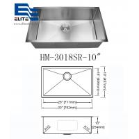 China 304 Stainless Steel Undermount Sink Single Bowl on sale